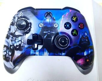 Custom STARWARS Darth Vader XBOXONE Controller [Made to Order]