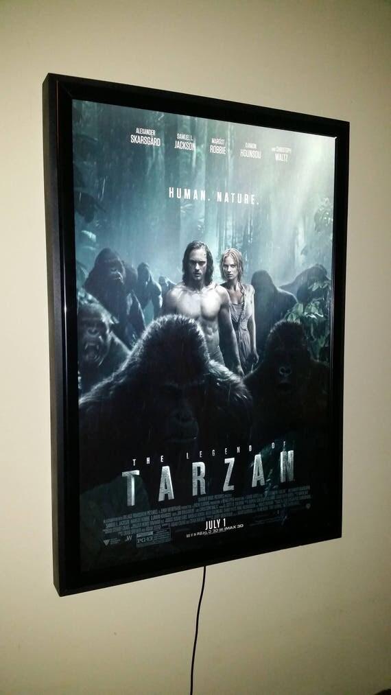 Movie Poster Led Light Box Display Frame Cinema Light Up Home
