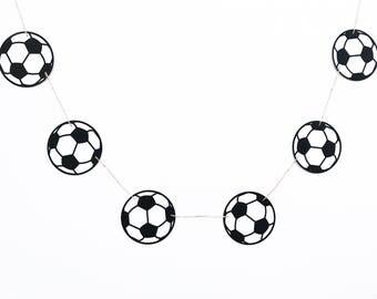 Soccer Banner | Soccer Garland | Soccer Decor | Sports Banner | Sports Garland | Sports Decor | Soccer Party | Sports Party | Birthday