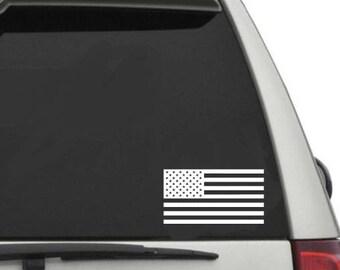 American flag Patriotic car decal
