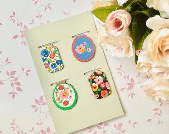 Hema Paper Bookmark Floral