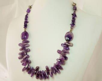 Amethyst, Amethyst necklace