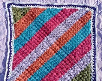 Lively little lady baby blanket