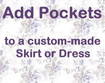 Add Hidden Side Pockets