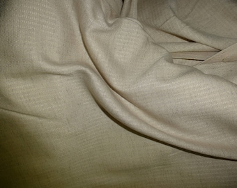 NO. 68-FABRIC COTTON AND VISCOSE NO FROISSABLE CRAFT - BEIGE