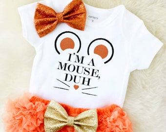 baby girl halloween outfit - baby girl mouse outfit - girls halloween shirt - toddler halloween outfit - baby girl halloween costume