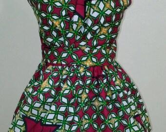 African print top/Ankara tops/Peplum top/ Peplum/African clothing/Ankara peplum/African print/Crop top/African blouse/Ankara blouse/Ankara