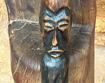 African-themed Talking Stick
