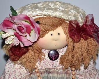 Little Souls Doll, Little Souls Original, Gretchen Wilson, Dolly Mama, 24 Inch Cloth Doll, Little Souls Eileen, Vintage Doll, OOAK Doll