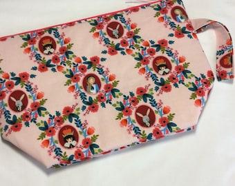 Zippered project bag - Wonderland