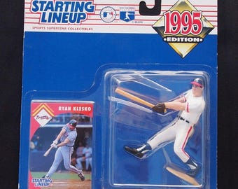 Ryan Klesko 1995 Starting Lineup SLU Sports Figure Atlanta Braves New / Packaged