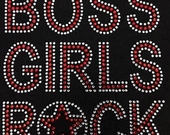 Kids Boss girls rock