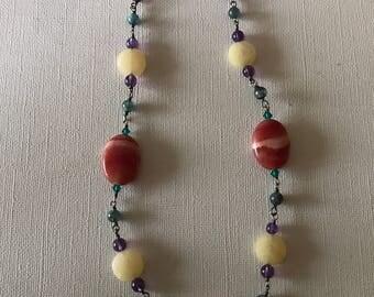 Vibrant Gemstone Necklace