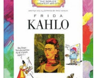Frida Kahlo -by Mike Venezia (Getting to Know the World's Greatest Artists), Famous Mexican Artist,  Children's Book, Art Educational Book