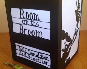 Room on the Broom Papercut Lantern