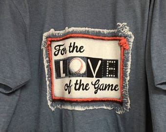 Southern Couture for the love of the game tee shirt new
