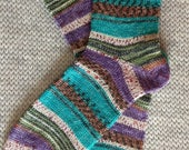 Wool socks,  Hand Cranked Wool Socks, Hand Made Wool Socks, Knit Wool Socks, Women's Wool Socks, Teen Wool Socks, Boy's  Wool Men's Socks