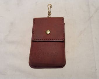 Vintage Brown Leather Case - NEW