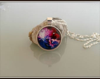 Cabochon Galaxy necklace