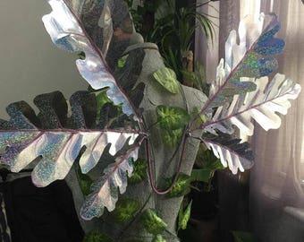 In Stock - Large Lilac / Silver Triple Oak Leaf Woodland Fairy Wings