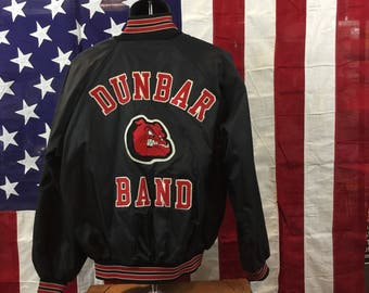 Bulldogs band letterman jacket