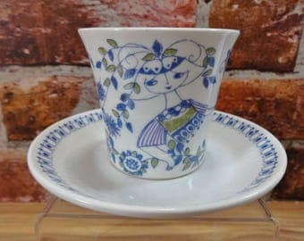 Figgjo Flint Lotte Cup and Saucer