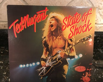 "Ted Nugent ""Free For All"" - 1979 Vintage Vinyl Record - LP - Free Shipping!"