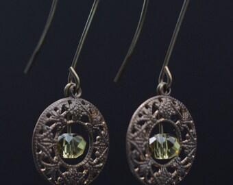 Victorian Crystal Earrings