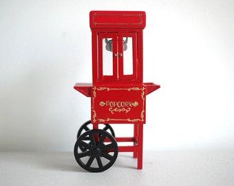 Dollhouse miniature popcorn machine
