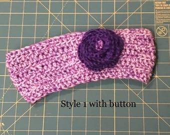 Crocheted Headband/Turban