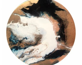 Brontide- Original Abstract Resin Art