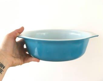 Vintage pyrex horizon blue pyrex dishes pyrex 043 pyrex cookware pyrex oven dishes blue pyrex turquoise pyrex kitchenware oval baking dishes