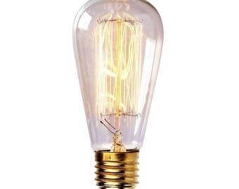 Edison Bulb- 60 watt - Vintage Style Bulb - Filament Bulb