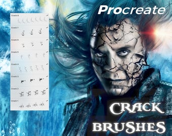Crack Brushes - Procreate
