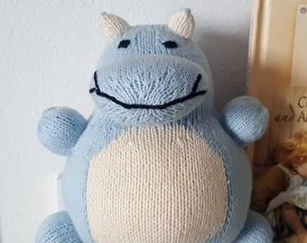 Oscar the Blue Hippo