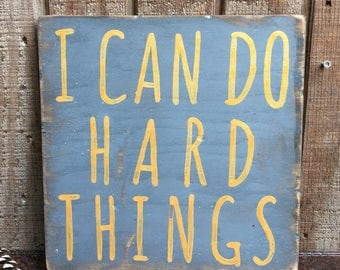 I Can Do Hard Things. IN STOCK.