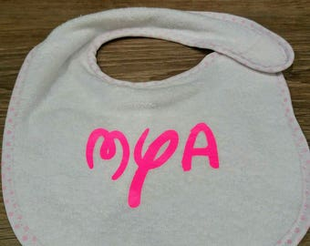 bib to be personalized according to your desires