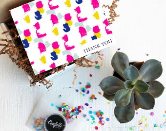Mini Thank You Gift Box -  Appreciation Gift | Best Friend Gift | Teacher Gift | Succulent Gift | Room Parent Gift | Coworker Gift |