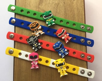 Rangers Charm Bracelets PARTY FAVORS
