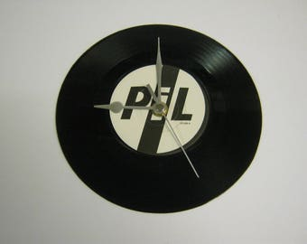 """Public Image LTD (Pil) """"This Is Not A Love Song"""" Special Unique Record Wall Clock Gift - Death Disco God Save The Queen Anarchy In The UK"""