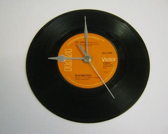 "The Sweet ""Blockbuster"" Special Unique Vinyl Record Wall Clock Gift"