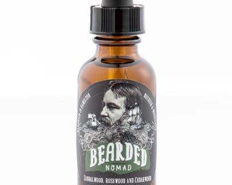 Bearded Nomad's Sandalwood, Rosewood & Cedar wood Beard Oil