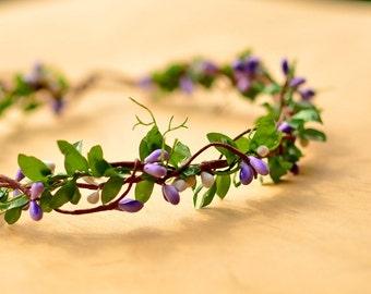 Bohemian Berry Crown