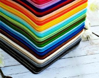 1 SHEET - 100% merino wool felt - Made in Europe - Meets all safety standards - Designer Felt