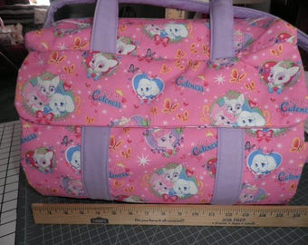 Diaper Bag & Changing Pad made with Royal Cuteness Disney Fabric