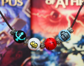 Percy Jackson Camp Half-Blood Bead Necklace