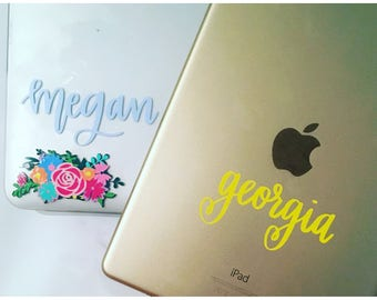 Name Decal, Calligraphy Decal, Calligraphy Name Decal, Custom Name Decal, Any Name Decal, Name Sticker, Word Decal, Word Sticker