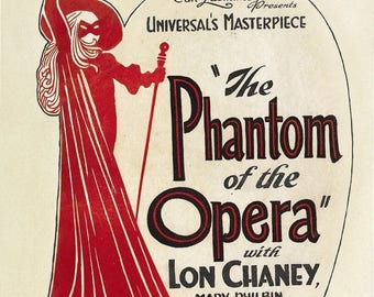 Summer Sale The Phantom of the Opera (1925) Movie Poster