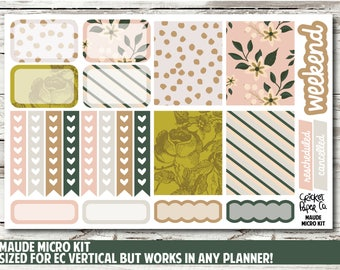 Maude Micro Kit Planner Stickers