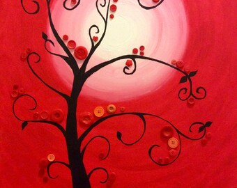 Tree of life - Red